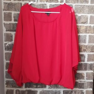 ❤a.n.a A New Approach Bat Wing Sleeves Top